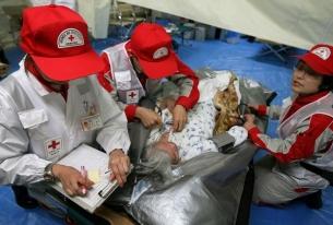 Действия на Японски Червен кръст в помощ на пострадалите в Япония