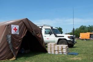 Българският Червен кръст проведе мащабно учение за действие при БАК с участието на всички видове спасителни екипи