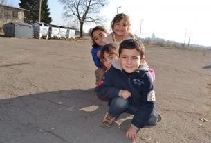 Летен лагер за деца бежанци край Велико Търново