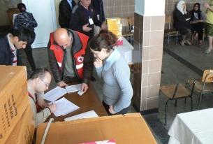 Българският Червен кръст продължава да подпомага бежанците