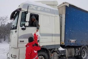 БЧК помага на бедстващи в усложнената зимна обстановка