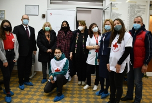 Кръводарителска акция със словашкото посолство
