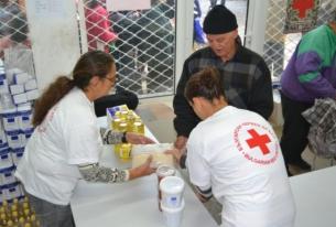 Столичната организация на БЧК стартира раздаването на хранителни продукти