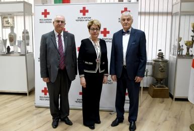 Посланикът на Русия в България посети БЧК