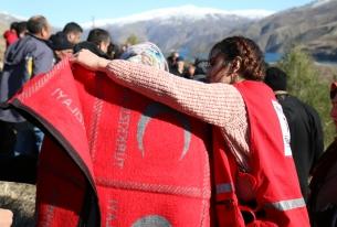 Червеният полумесец предоставя животоспасяваща помощ